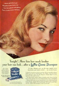 luster cream shampoo